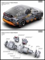 Audi etron 3morters アウディ トリプルモーター