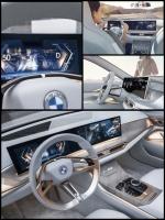 BMW i4 EV カーブディスプレイ