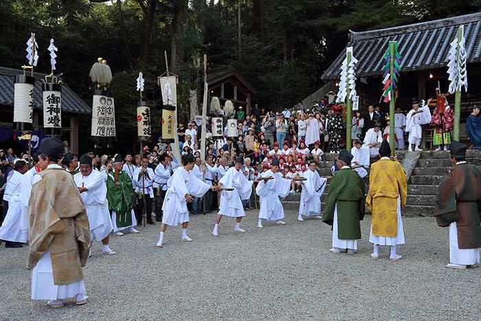 往馬大社 火祭り2