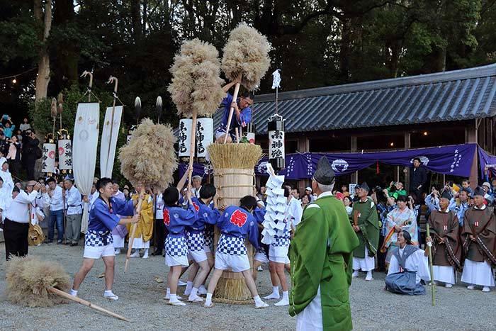 往馬大社 火祭り3