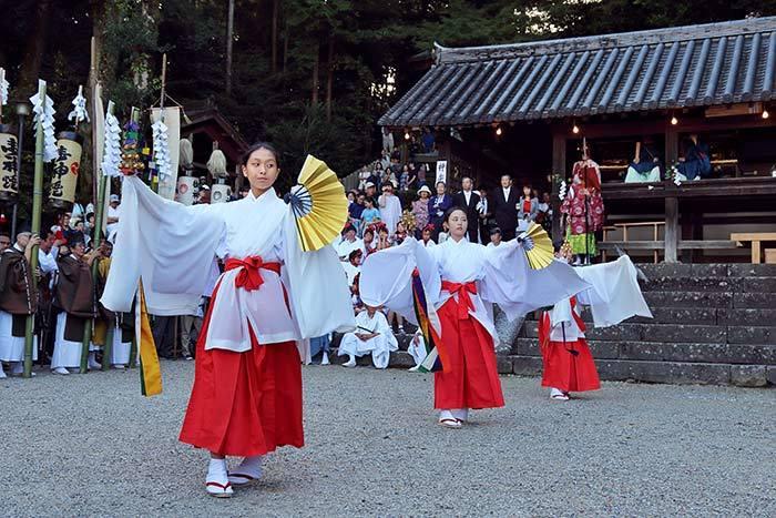 往馬大社 火祭り4