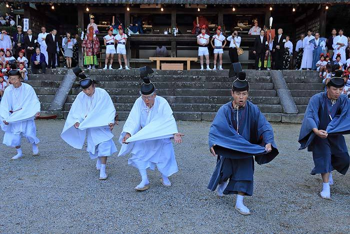 往馬大社 火祭り6