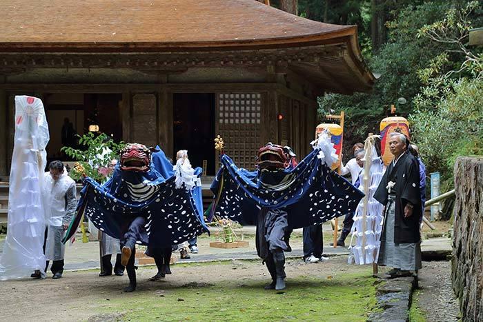 室生龍穴神社 秋祭り3