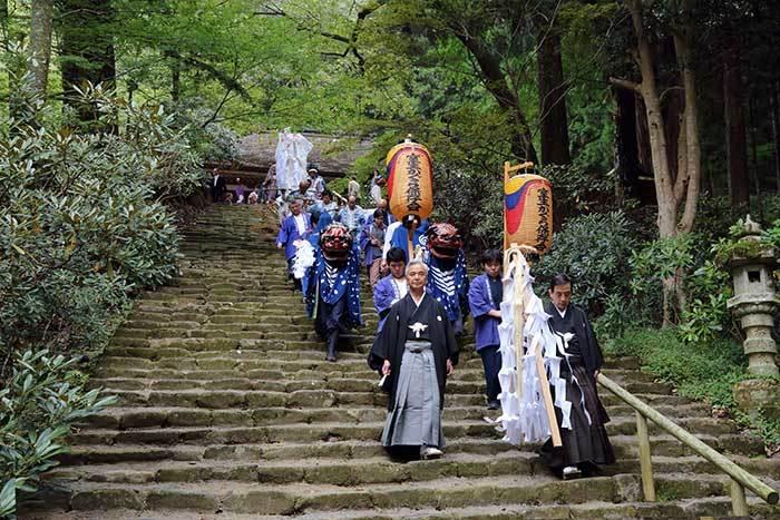 室生龍穴神社 秋祭り4