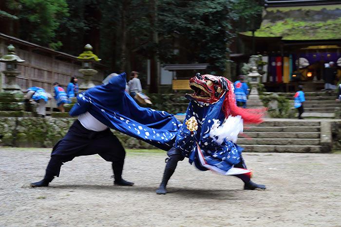 室生龍穴神社 秋祭り8