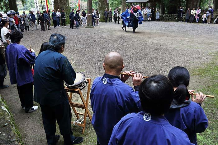 室生龍穴神社 秋祭り9