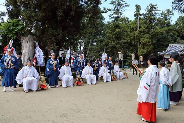糸井神社 秋祭り1