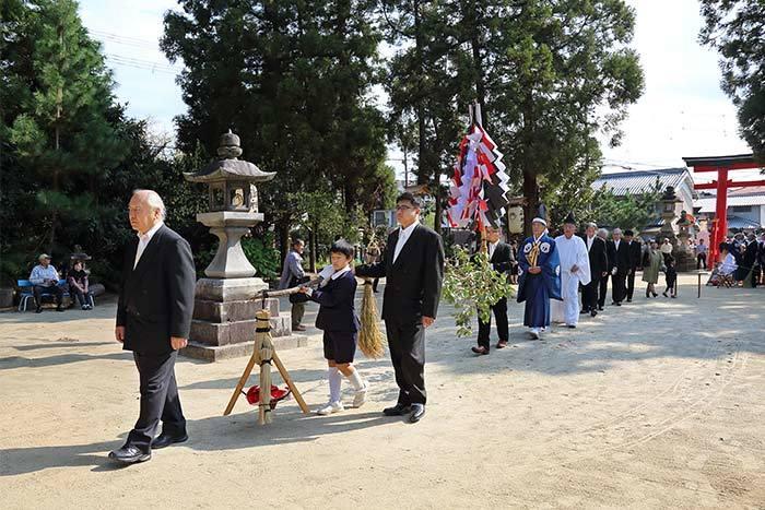糸井神社 秋祭り2