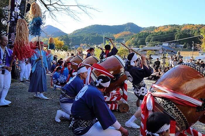 吐山の太鼓踊り6