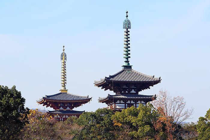 西ノ京 薬師寺双塔3
