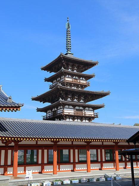 西ノ京 薬師寺双塔4