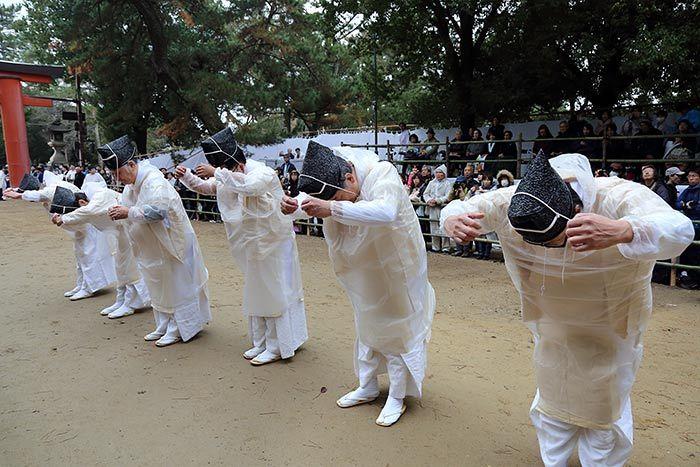 おん祭 松の下式4