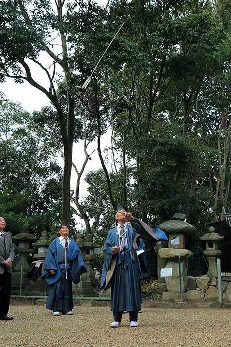秋留八幡神社 鬼打式2