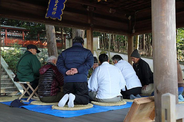矢田坐久志玉比古神社 筒粥祭5