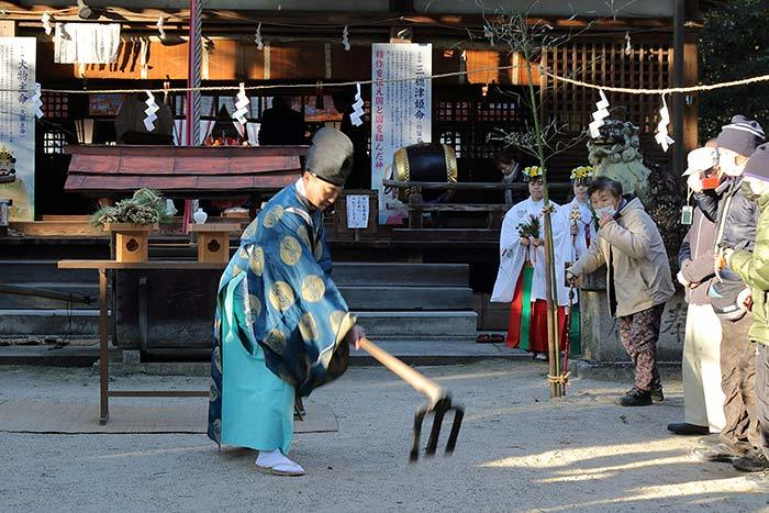 村屋神社 御田祭り2