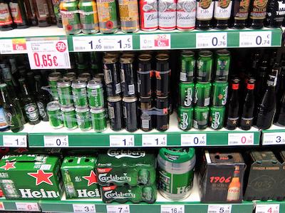 スペイン中東249マラガビール