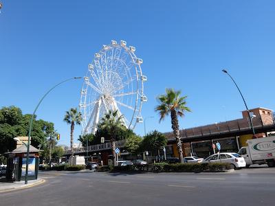 スペイン中東254マラガ観覧車