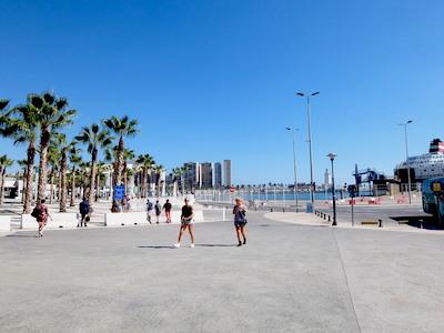 スペイン中東255マラガ海岸