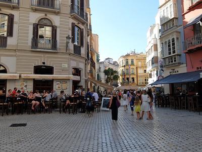 スペイン中東267マラガ旧市街