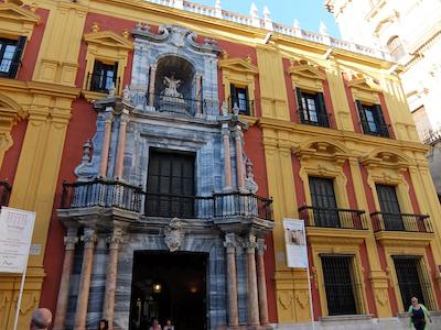 スペイン中東270マラガエピスコパル宮殿