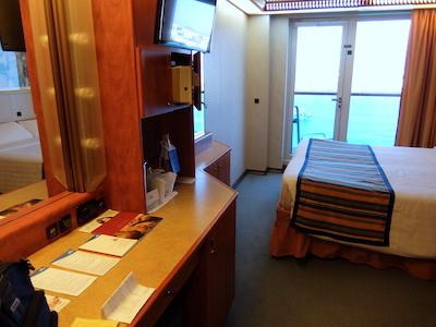 スペイン中東295コスタメディタラニア客室