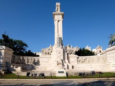 スペイン中東320カディス憲法記念碑
