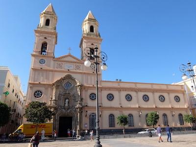スペイン中東323カディスサンアントニオ教会