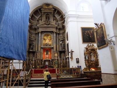 スペイン中東325カディスサンアントニオ教会