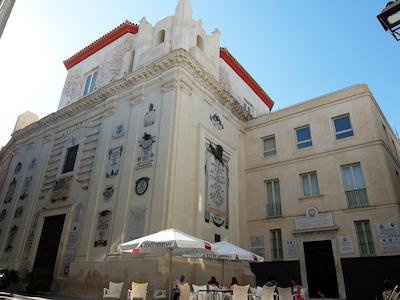スペイン中東329カディスサンフェリペネリ礼拝堂