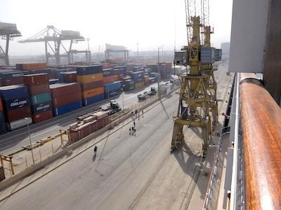 スペイン中東349カサブランカ港