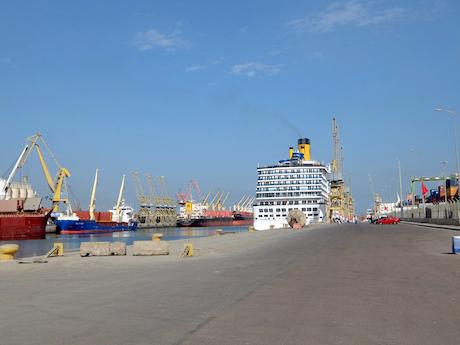 スペイン中東350カサブランカ港コスタメディタラニア