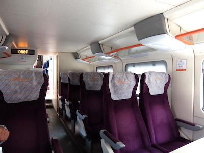 スペイン中東355カサブランカ電車