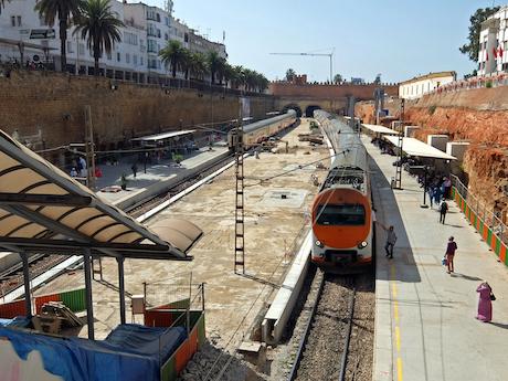 スペイン中東356ラバト駅