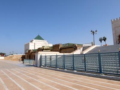 スペイン中東364ラバトムハンマド5世霊廟