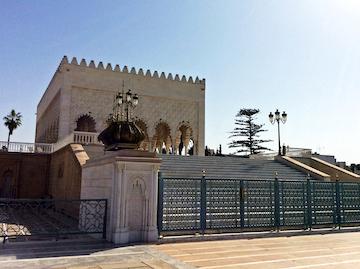 スペイン中東365ラバトムハンマド5世霊廟