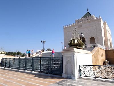 スペイン中東366ラバトムハンマド5世霊廟