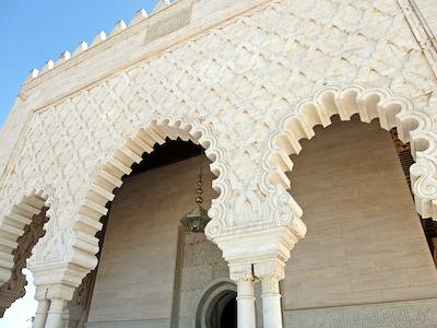 スペイン中東367ラバトムハンマド5世霊廟