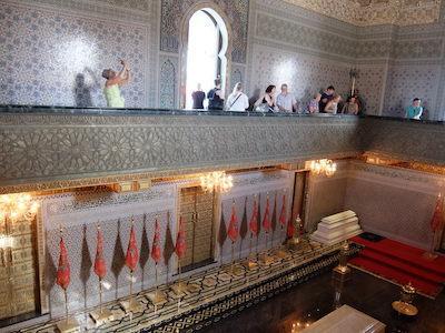 スペイン中東368ラバトムハンマド5世霊廟