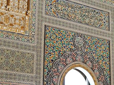 スペイン中東369ラバトムハンマド5世霊廟