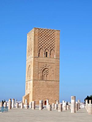 スペイン中東371ラバトハッサンの塔