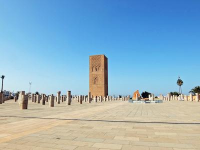 スペイン中東372ラバトハッサンの塔