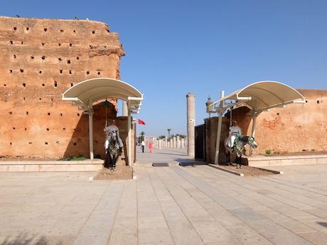 スペイン中東375ラバトハッサンの塔
