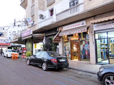 スペイン中東378カサブランカ街並み