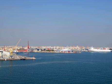 スペイン中東400バレンシア港