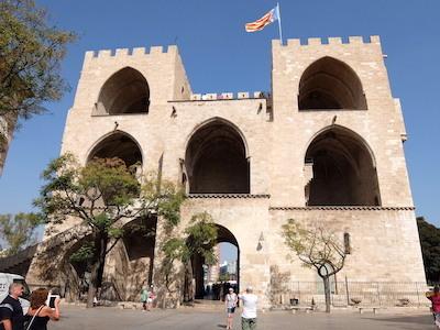 スペイン中東402バレンシアセラーノスの塔