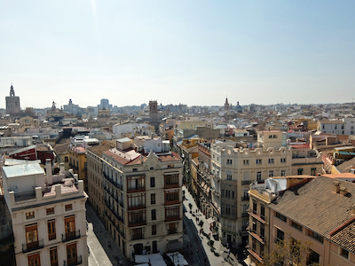 スペイン中東404バレンシアセラーノスの塔