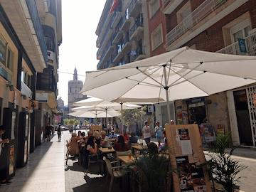 スペイン中東405バレンシアカフェ