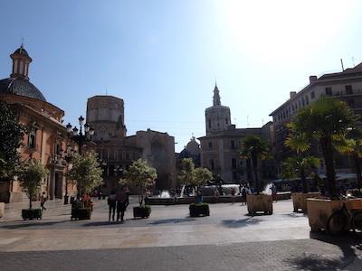 スペイン中東406バレンシアビルヘン広場