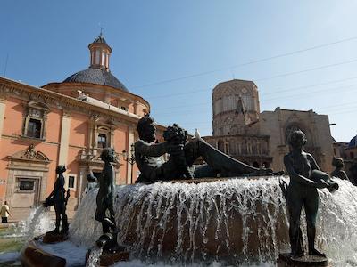 スペイン中東407バレンシアビルヘン広場