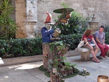 スペイン中東408バレンシア大道芸人
